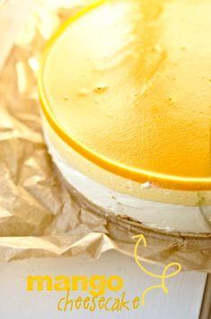 chrupiąca sałatka Coconut Milk Uses, Mango Pulp, Mango Cream, Mango Cheesecake, Sources Of Vitamin A, Mango Fruit, Something Sweet, Sweet Desserts, Baking Pans