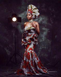 Spring Fashion Trends, Nyc Fashion, Royal Fashion, Fashion Ideas, African Inspired Fashion, African Print Fashion, Couture Dresses, Fashion Dresses, Ankara Fashion