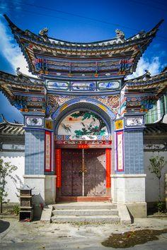 Traditional architecture in Dali, Yunnan, China