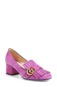 1016c231bc0 Gucci  Marmont  Pump (Women) available at  Nordstrom Stilettos