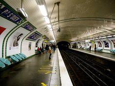 Métro Porte de Saint-Ouen, Paris 17e, M13 Metro Subway, Saint Ouen, Paris Metro, Metro Station, France, Explore, Passion, Places, Transportation