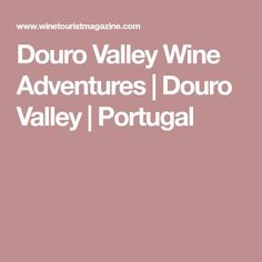 Douro Valley Wine Adventures   Douro Valley   Portugal