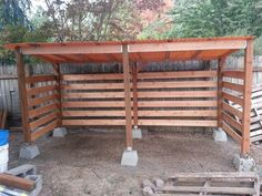 Shed Plans - My Shed Plans - Firewood storage shed I built in one day. Great airflow. - Now You Can Build ANY Shed In A Weekend Even If Youve Zero Woodworking Experience! - Now You Can Build ANY Shed In A Weekend Even If You've Zero Woodworking Experience!