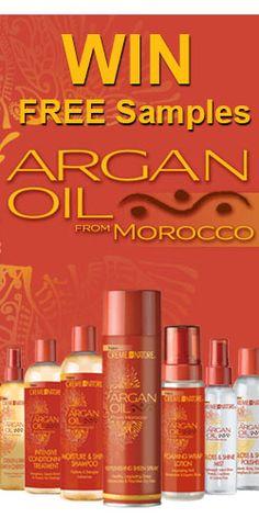 Win Free Samples Of Argan Oil