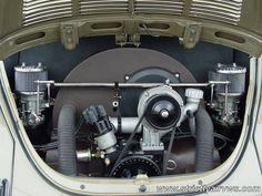 VW Bug engine Performance And Inspiration For You Porsche 356, Vw Super Beetle, Hot Vw, Vw Engine, Volkswagen Karmann Ghia, Vw Vintage, Vw Cars, Vw Beetles, Vw Camper