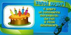 Tanti auguri, Ti auguro un compleanno meraviglioso, che non si possa dimenticare.
