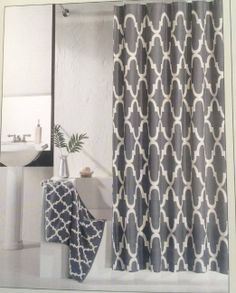 Bath on pinterest shower curtains quatrefoil and walmart for Bathroom 94 percent