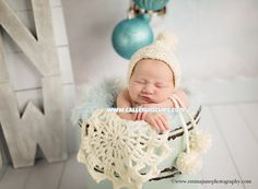 The Serene Snowpixie Newborn prop by #calleighsclips on Etsy
