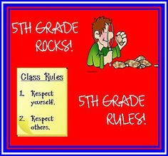 5th Grade Rocks, 5th Grade Rules