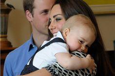 Royal Baby: Prinz George beim ersten offiziellen Termin