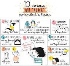 """10 cosas que """"nunca"""" aprenderé a hacer // Saludos al pollo"""