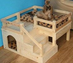 - Cats and Dogs House Pallet Dog House, Pallet Dog Beds, Dog House Bed, Dog House Plans, Dog Bunk Beds, Pet Beds, Cool Dog Houses, Inside Dog Houses, Dog Crate Furniture