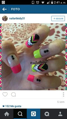 Vɨʋɨaռa                                                                                                                                                                                 Más Glam Nails, Hot Nails, Hair And Nails, Beauty Nails, Fabulous Nails, Gorgeous Nails, Pretty Nails, Elegant Nail Designs, Nail Art Designs