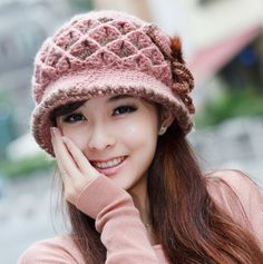 cheap wholesale Flower Beanies, apparel & accessories ,   $8 - www.bestapparelworld.com