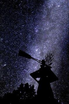 Milky Way with Andromeda Galaxy in the background - Prescott, Arizona