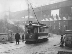 Bolton Corporation only ran three single-decker trams. Tramcar 104 is pictured here on the Darcy Lever run during the 1920s
