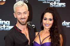 Celebrity News : Nikki Bella Addresses Those Rumors That She And Artem Chigvintsev Live Together And That She Wants Kids ASAP! Wwe Nxt Divas, Kids Choice Sports, Artem Chigvintsev, Nikki And Brie Bella, Wrestling Stars, Paparazzi Photos, Hollywood Life, Dancing With The Stars, Celebrity News
