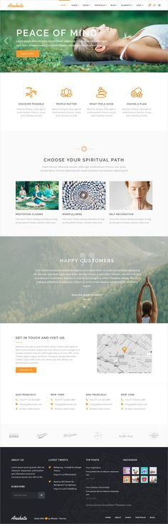 Anahata is a perfect 12in1 responsive #WordPress theme for #yoga, #retreat fitness and lifestyle studio websites download now➩ https://themeforest.net/item/anahata-a-yoga-fitness-and-lifestyle-theme/19375212?ref=Datasata