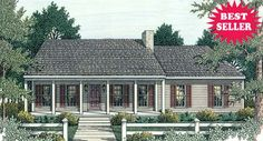 Sutherlin Small Ranch House Plan  Stories: 1  Total Living Area: 1492 Sq. Ft.  First Floor: 1492 Sq. Ft.  Bedrooms: 3  Full Baths: 2