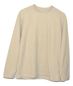 Columbia Mens Beige Fleece Long Sleeve Crew Neck Sweatshirt Medium M Large L XL #Columbia #SweatshirtCrew