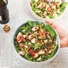 Fig, Pecorino & Walnut Salad With Balsamic Vinegar | sheerluxe.com