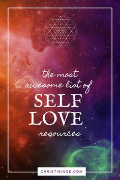 Looking for resources on your self love journey? This is the ultimate list of self love and self acceptance books, courses, website, etc. to support you.