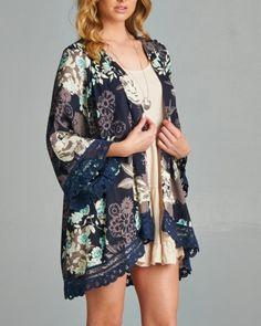 Midnight Dream Kimono