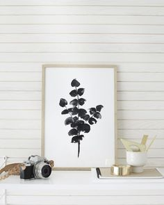 Obsessed with these gorgeous eucalyptus prints by Riikka Kantinkoski
