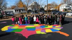 "PHOTOS: ""Peaceful Playground"" at West Haven, Conn. School - New Haven Register Savin Rock Community Elementary"