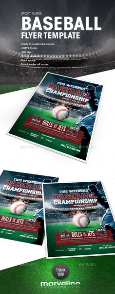 Baseball Flyer Template  More Flyer Template Graphics And Event