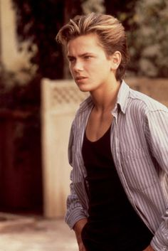 River Phoenix, 1988, but forever in my heart