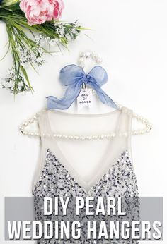How to make DIY pearl hangers