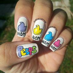 101nailfreak easter #nail #nails #nailart