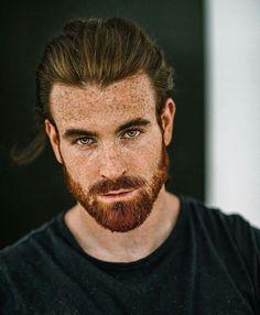 Likes, 4 Comments - ✖✖ Beard Styles Menn✖✖ ( on I. Red Beard, Ginger Beard, Man Bun And Beard, Hot Ginger Men, Bart Styles, Hipster Noir, Hair And Beard Styles, Long Hair Styles, Red Hair Men