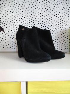 BLACK TOPSHOP HEELS BOOTS UK 6