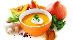 Come fare la minestra cremosa di zucca