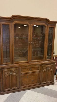 Wood China Cabinet price just reduced