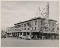 """Pioneer Club. Las Vegas, c.1942. Opened in 1942. Photo: Sherwin """"Scoop"""" Garside, via UNLV"""