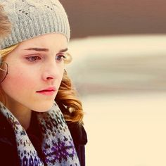 I love how Emma Watson was able to show so much Hermione with just a look