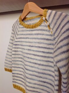 Love the colours. Baby Sweater Patterns, Baby Sweater Knitting Pattern, Knitting Stiches, Baby Knitting Patterns, Knitting Designs, Knit Or Crochet, Crochet Baby, Handmade Clothes, Diy Clothes
