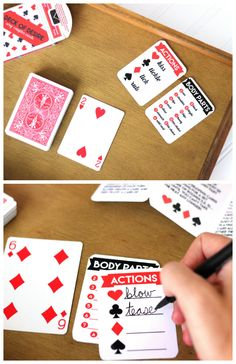 Sexy Card Game With Intimate Actions For Married Couples