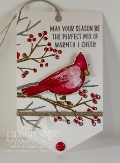 Debbie's Designs: 12 Days Of Christmas Tags Day #11!