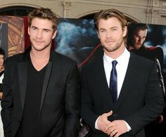 Liam Hemsworth & Chris Hemsworth. I'll take one to go.  Just surprise me.