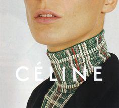 Daria Werbowy for Céline S/S 2014, by Juergen Teller.