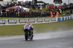 Drenched First Day on Phillip Island Halts Movistar Yamaha MotoGP`s Free Practice Progress