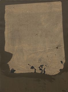 Antoni Tapies | Paper encolat damunt cartó, 1960 paint and collage on cardboard, 68,5 x 50 cm