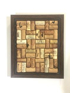 Wine Cork Jewelry Holder! A unique way to hang your jewelry or keys! https://www.etsy.com/shop/TheWineingTwins/items?section_id=22851310
