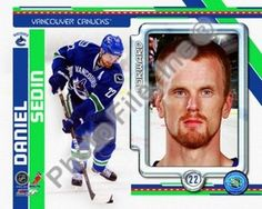 Daniel Sedin 2010 Studio Plus Photo Print (11 x 14)