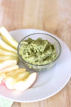 Healthy Green Fruit Dip - Natural Sweet Recipes