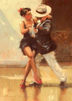 Raymond Leech Put On Your Red Shoes painting for sale, this painting is available as handmade reproduction. Shop for Raymond Leech Put On Your Red Shoes painting and frame at a discount of off. Tango Art, Framing Canvas Art, Dance Paintings, Argentine Tango, Shall We Dance, Salsa Dancing, Pierre Auguste Renoir, Edgar Degas, Chicano